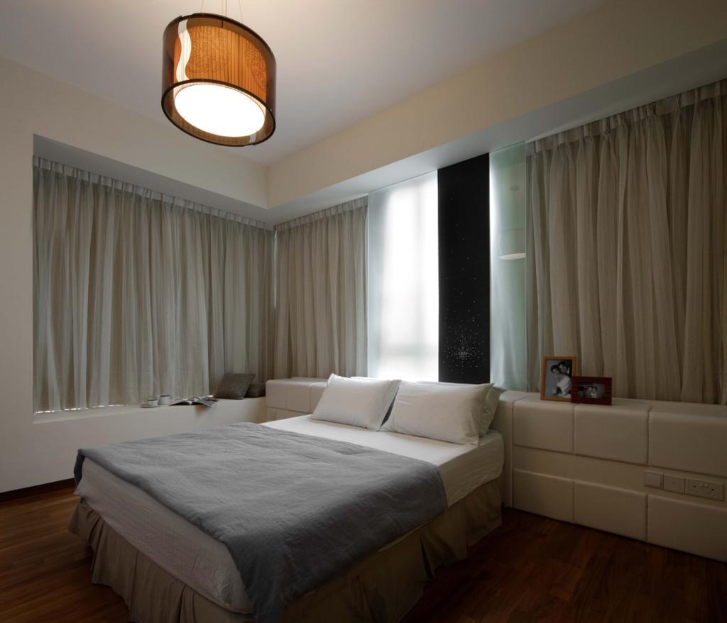 Contemporary, Condo, Mount Sinai, Interior Designer, Space Concepts Design, Couch, Furniture, Porthole, Window, Indoors, Room, Bedroom, Interior Design