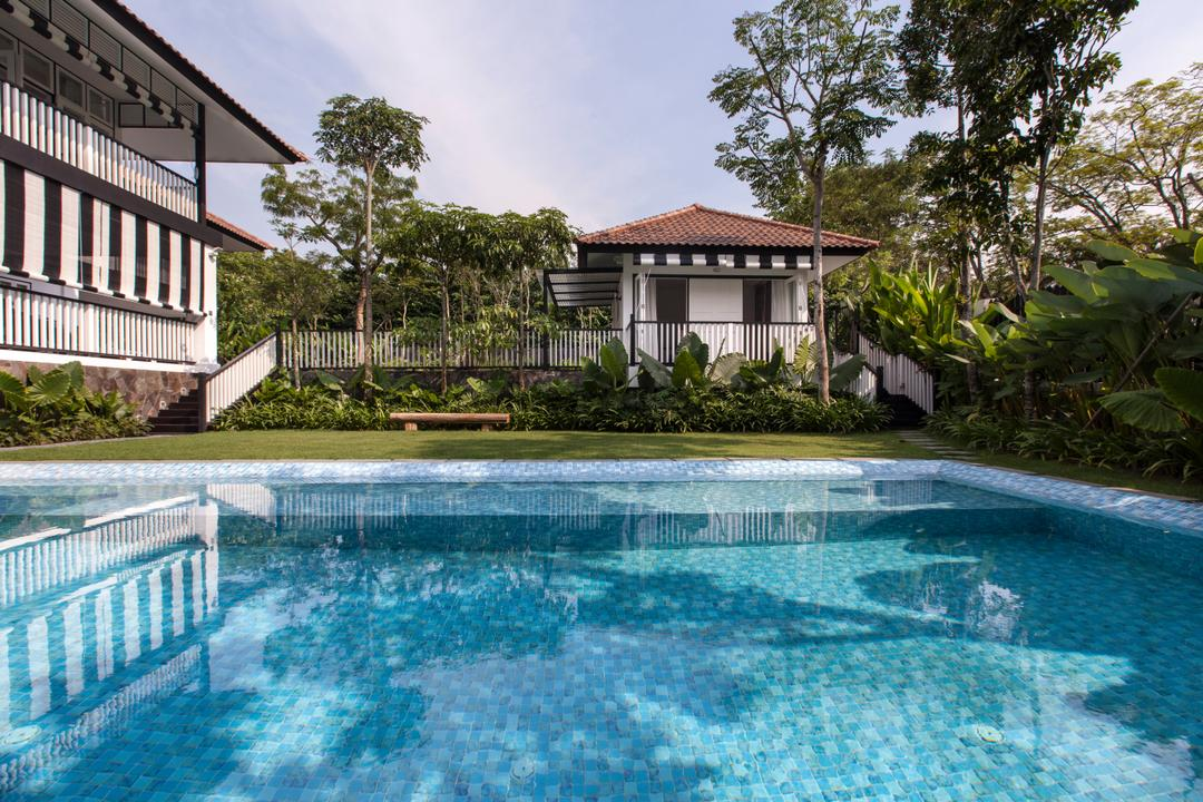 Maryland Drive, Aamer Architects, Traditional, Landed, Building, Hotel, Pool, Resort, Swimming Pool, Water, House, Housing, Villa