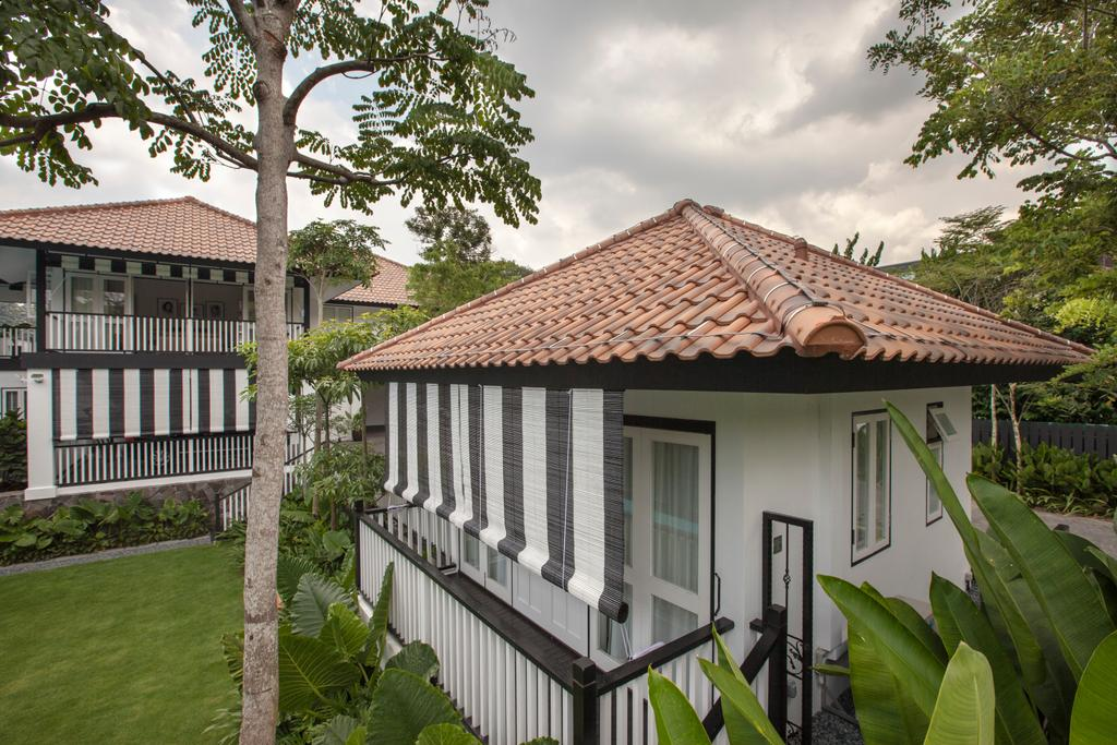 Traditional, Landed, Maryland Drive, Architect, Aamer Architects, Building, Cottage, House, Housing, Villa