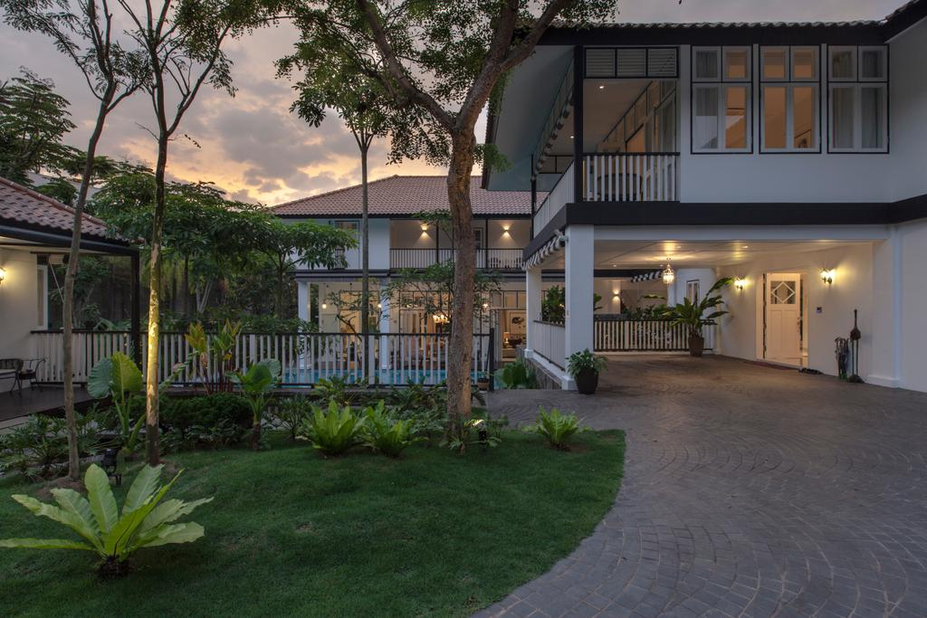 Traditional, Landed, Maryland Drive, Architect, Aamer Architects, Building, House, Housing, Villa