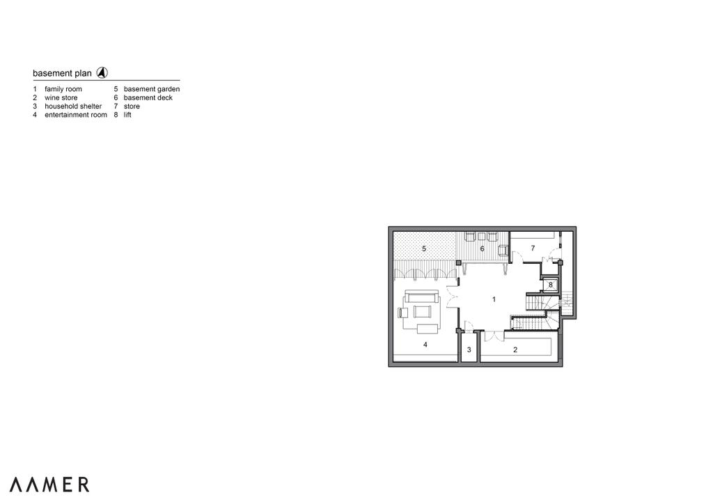 Traditional, Landed, Maryland Drive, Architect, Aamer Architects, Diagram, Floor Plan, Plan