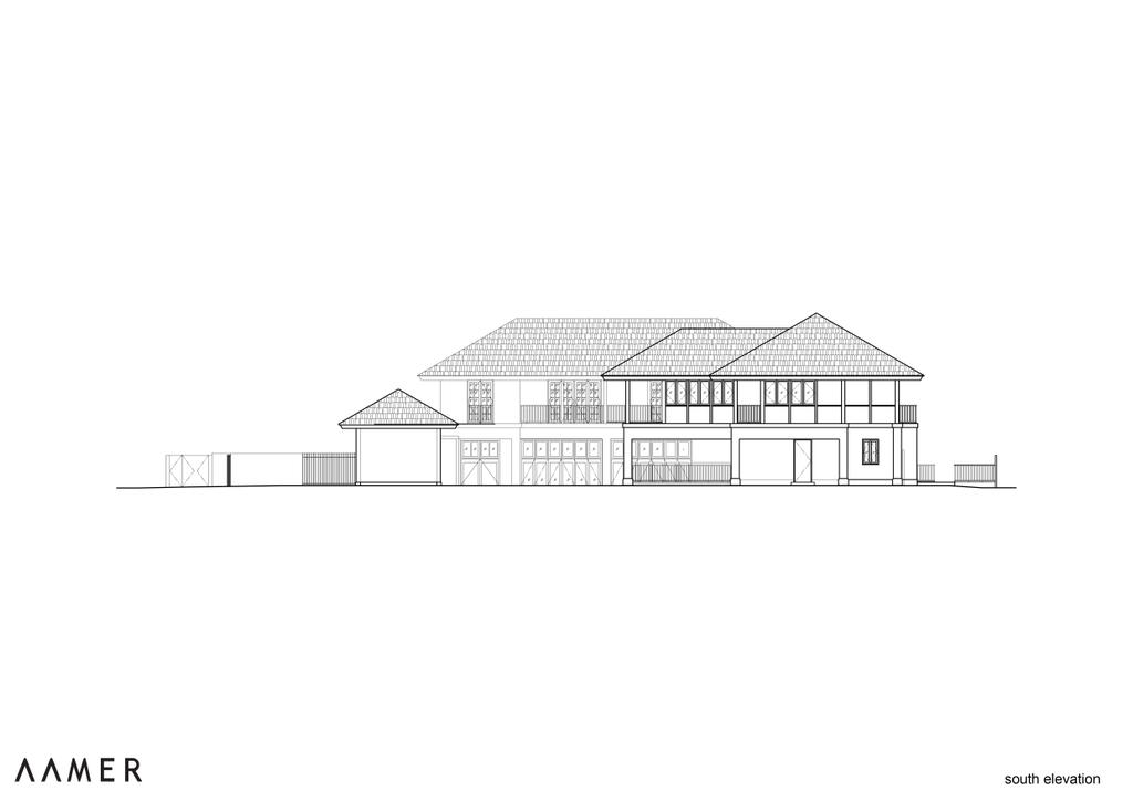 Traditional, Landed, Maryland Drive, Architect, Aamer Architects, Diagram, Plan