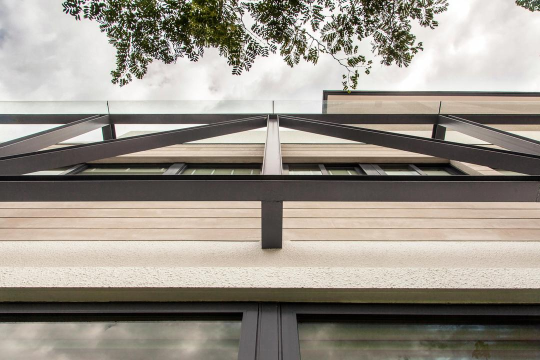 Jalan Remis, Aamer Architects, Contemporary, Landed, Triangle