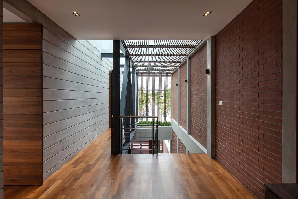 Contemporary, Landed, Jalan Remis, Architect, Aamer Architects, Balcony, Flooring, Floor