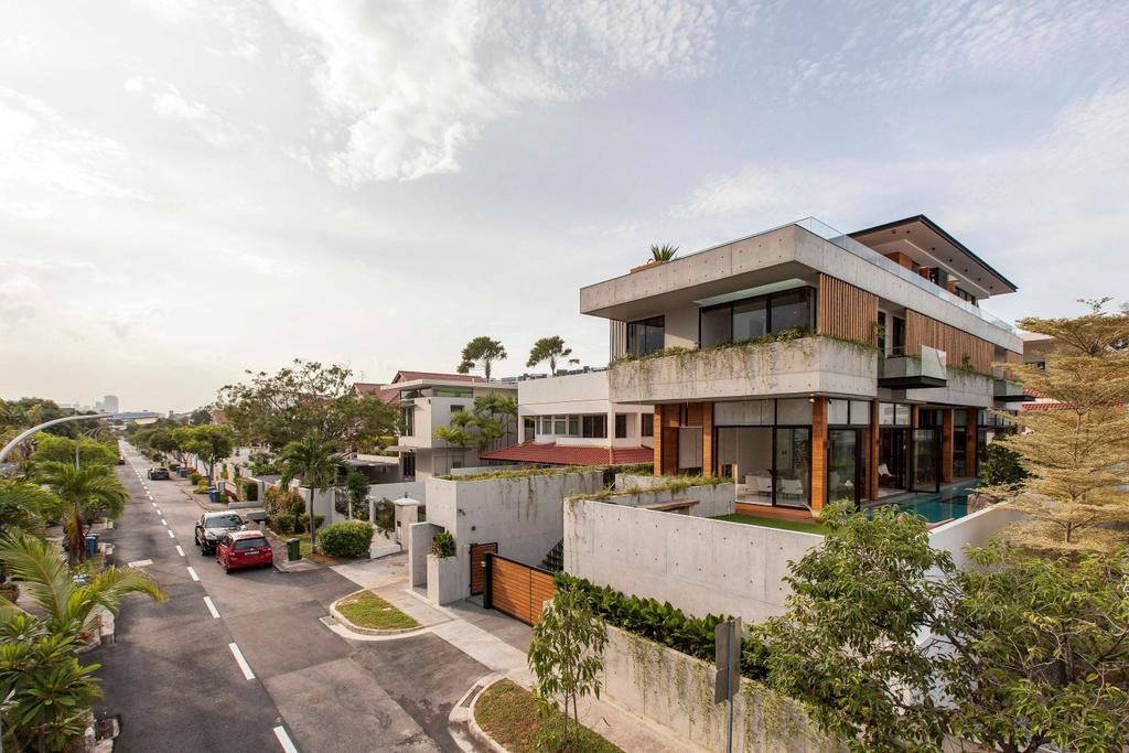 Transitional, Landed, Branksome Road, Architect, Aamer Architects, Building, House, Housing, Villa