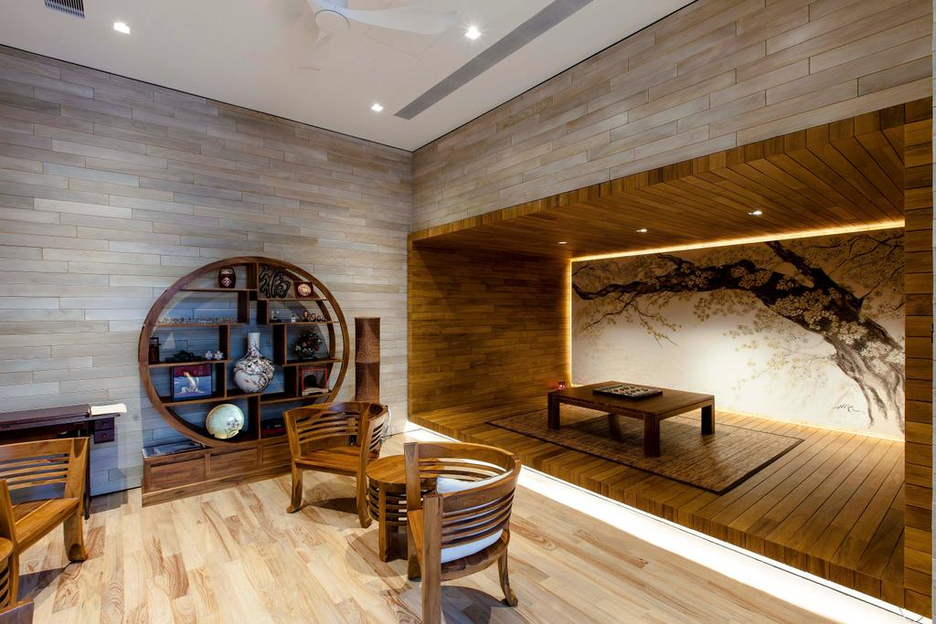 Transitional, Landed, Branksome Road, Architect, Aamer Architects, Chair, Furniture, Indoors, Interior Design