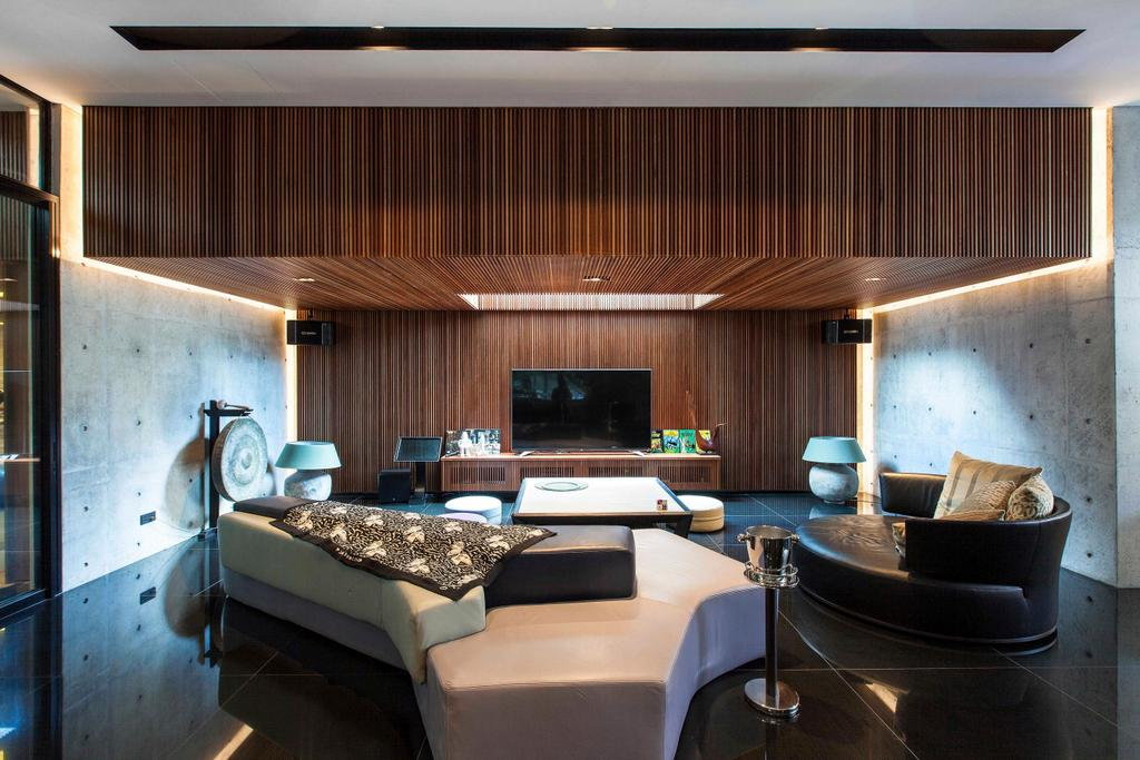 Transitional, Landed, Living Room, Branksome Road, Architect, Aamer Architects, Couch, Furniture, Conference Room, Indoors, Meeting Room, Room, Chair, Interior Design
