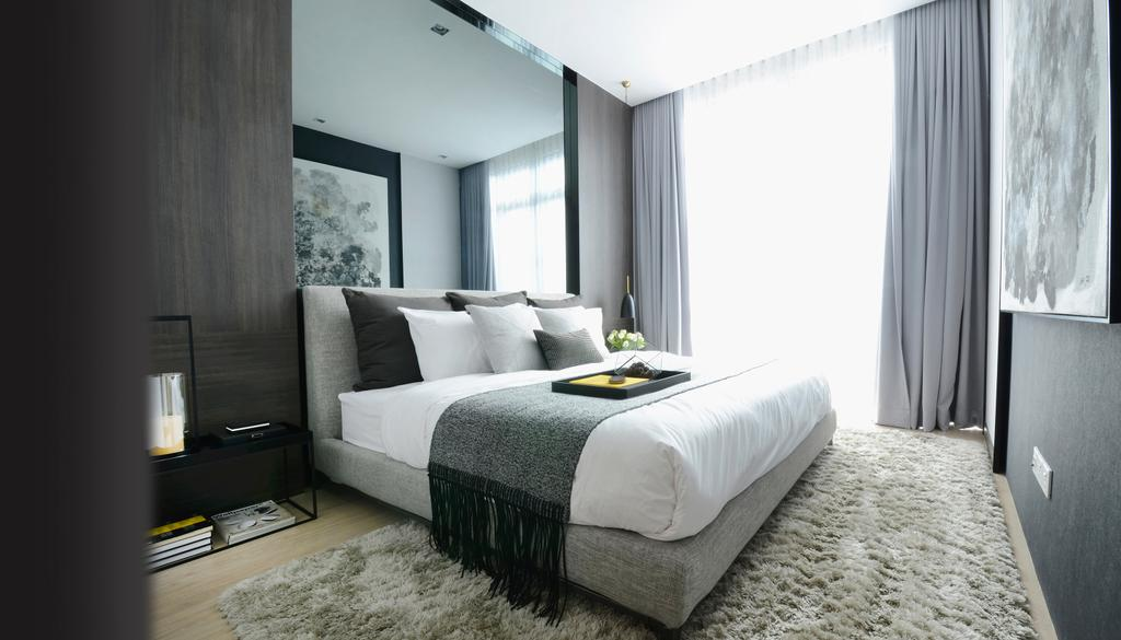 Contemporary, Condo, Bedroom, Green Haven Show Suite B, Malaysia, Architect, 0932 Design Consultants, Indoors, Interior Design, Room