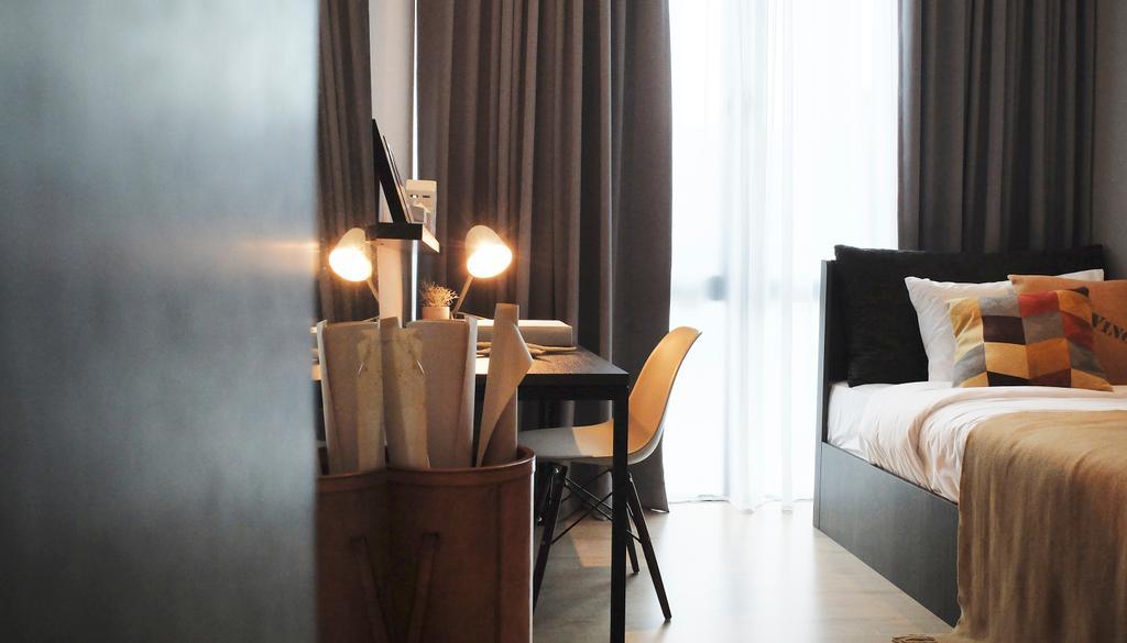 Contemporary, Condo, Bedroom, Green Haven Show Suite B, Malaysia, Architect, 0932 Design Consultants, Chair, Furniture, Sunlight