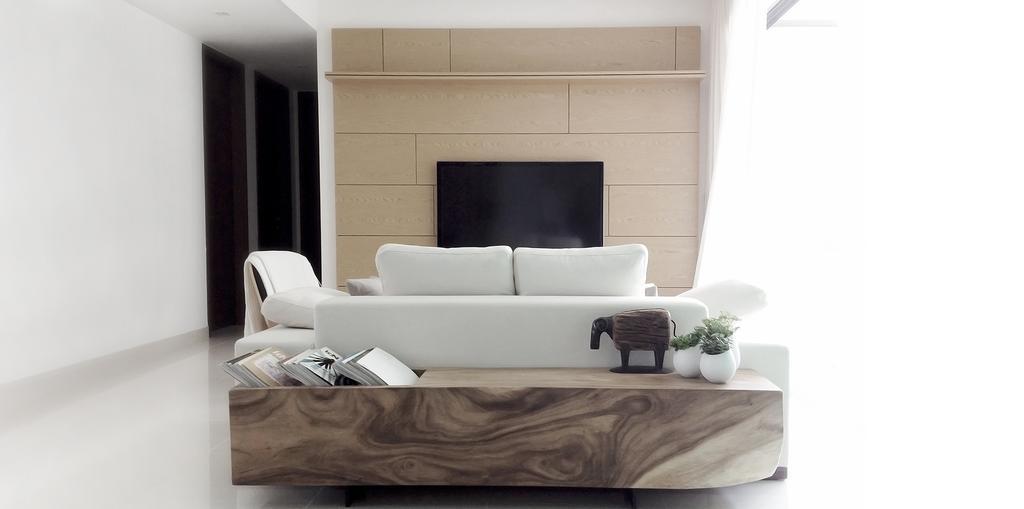 Minimalist, Condo, Living Room, D'Almira, Architect, 0932 Design Consultants, Couch, Furniture, Chair
