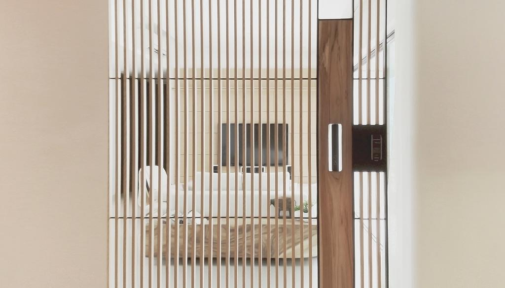 Minimalistic, Condo, D'Almira, Architect, 0932 Design Consultants, Door, Folding Door