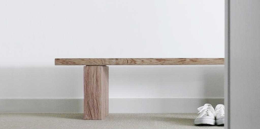 Minimalist, Condo, Living Room, D'Almira, Architect, 0932 Design Consultants, Bench, Wooden Bench, Hallway, Foyer, Clothing, Footwear, Shoe, Sneaker, Dining Table, Furniture, Table