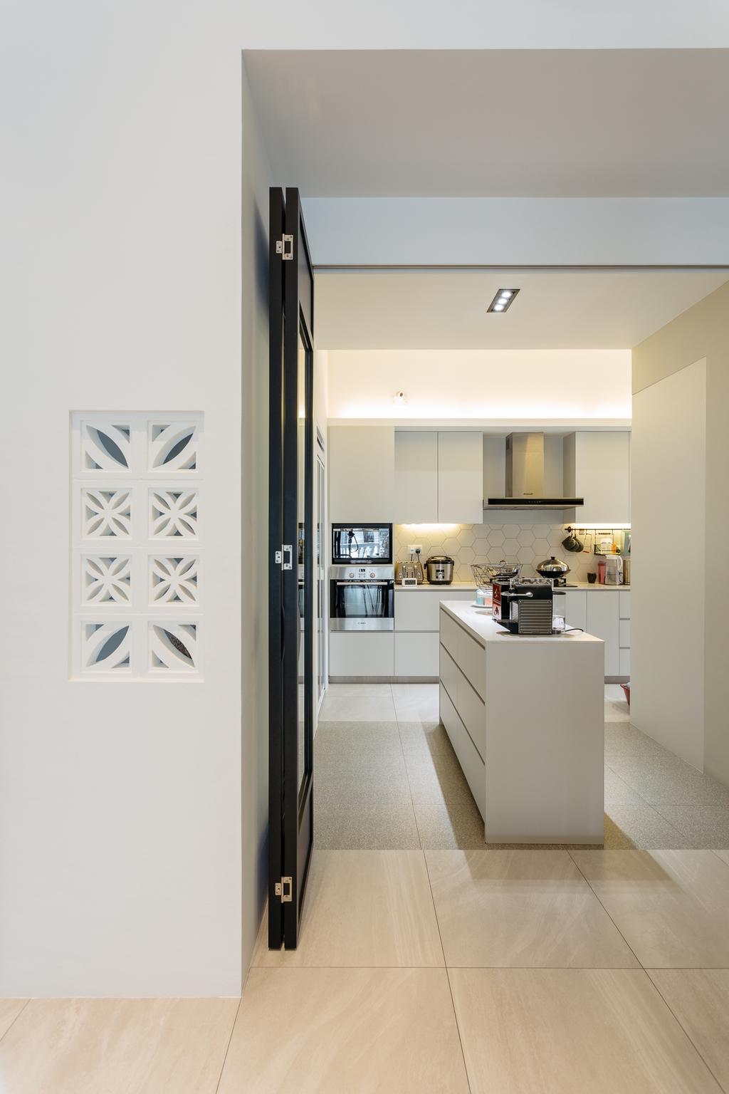Transitional, Condo, Kitchen, Crescendo Park, Interior Designer, Habit, Indoors, Interior Design