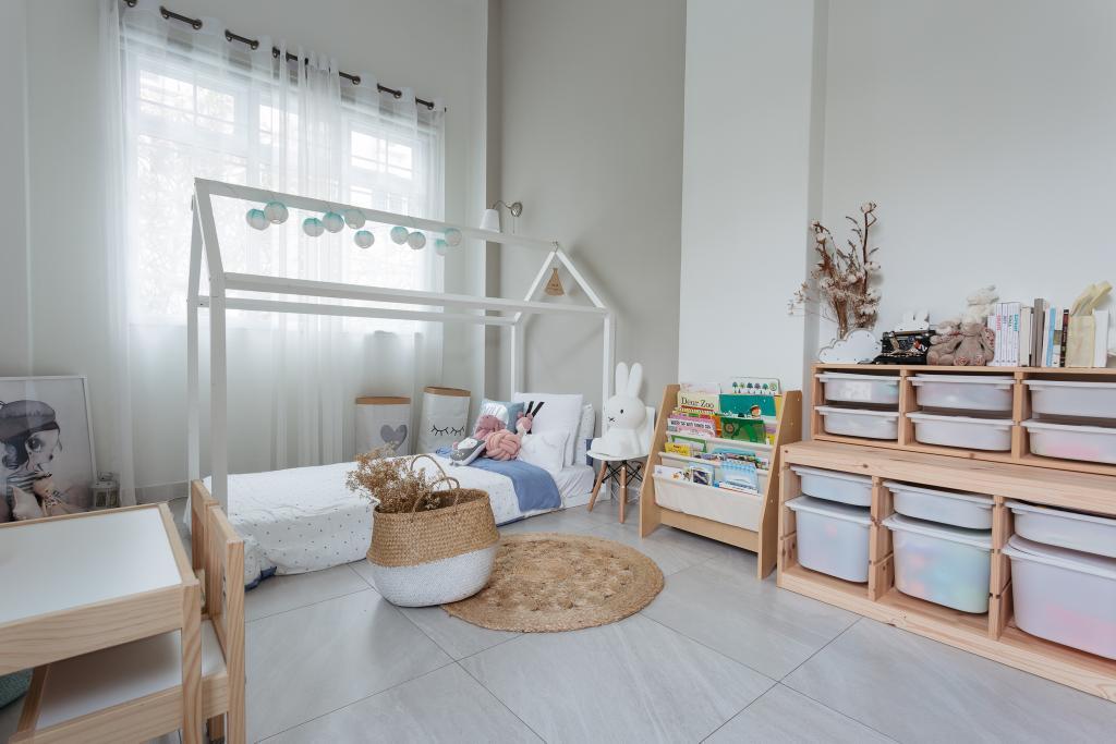 Transitional, Condo, Bedroom, Crescendo Park, Interior Designer, Habit