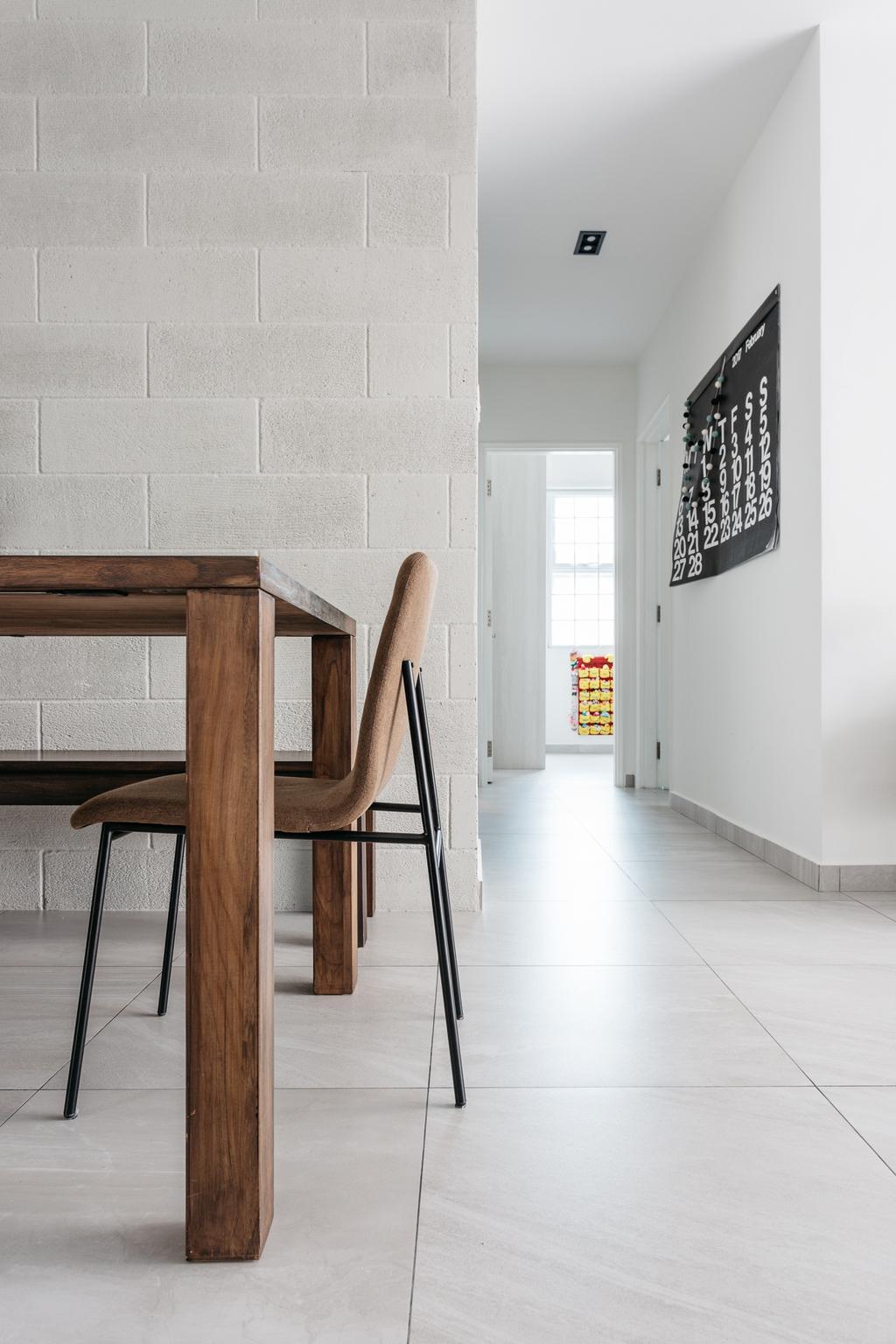 Transitional, Condo, Dining Room, Crescendo Park, Interior Designer, Habit, Bar Stool, Furniture, Chair, Dining Table, Table