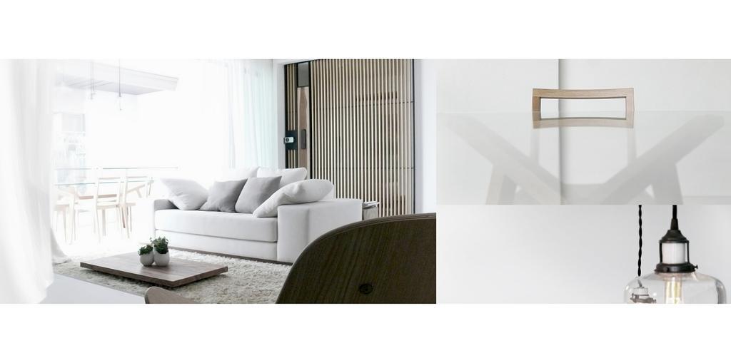 Minimalistic, Condo, Living Room, D'Almira, Architect, 0932 Design Consultants, Sofa, Grey, Gray, Carpet, Rug, Coffee Table