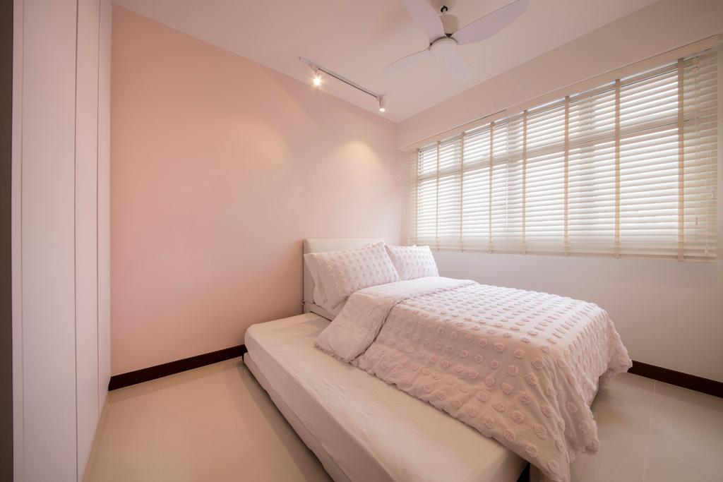 Contemporary, HDB, Bedroom, Choa Chu Kang (Block 810B), Interior Designer, Meter Square, Minimalistic, Indoors, Interior Design, Room