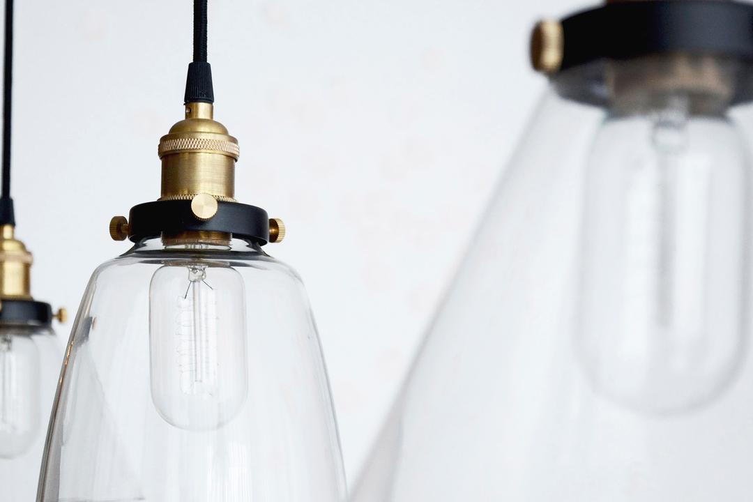 Evelyn, 0932 Design Consultants, Modern, Dining Room, Condo, Light Bulb, Glass Casing, Light, Lightbulb, Glass, Goblet
