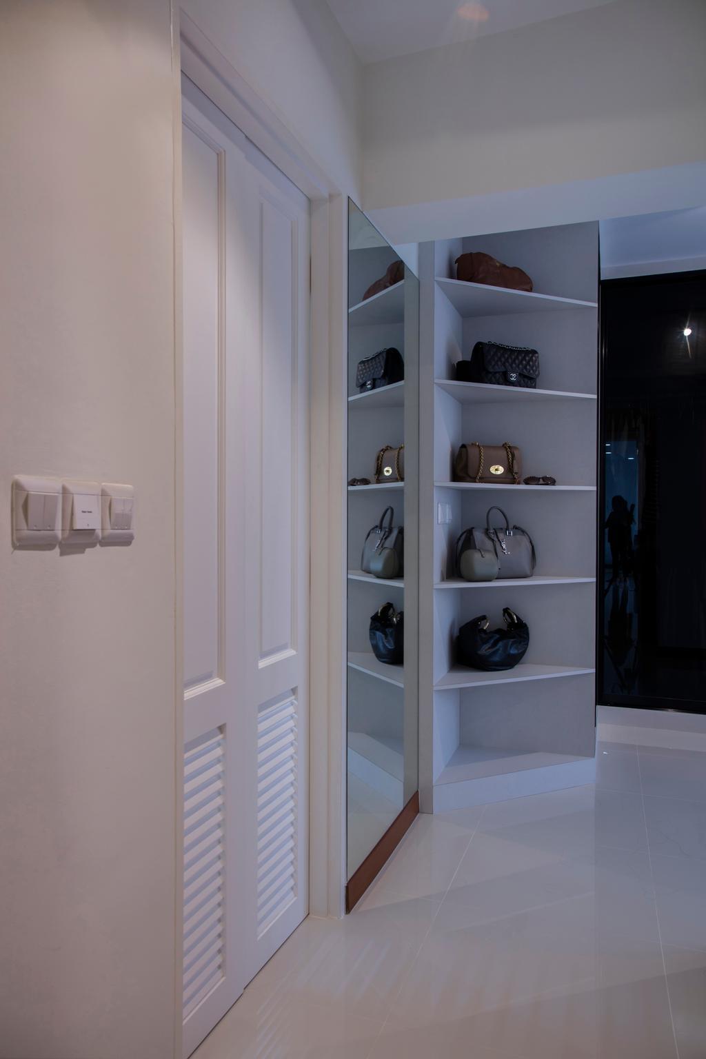 Contemporary, HDB, Bedroom, Choa Chu Kang (Block 810B), Interior Designer, Meter Square, Minimalistic, Closet, Cupboard, Furniture