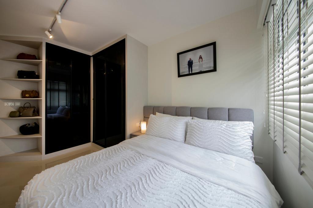 Contemporary, HDB, Bedroom, Choa Chu Kang (Block 810B), Interior Designer, Meter Square, Minimalistic, Indoors, Interior Design, Room, Art, Modern Art