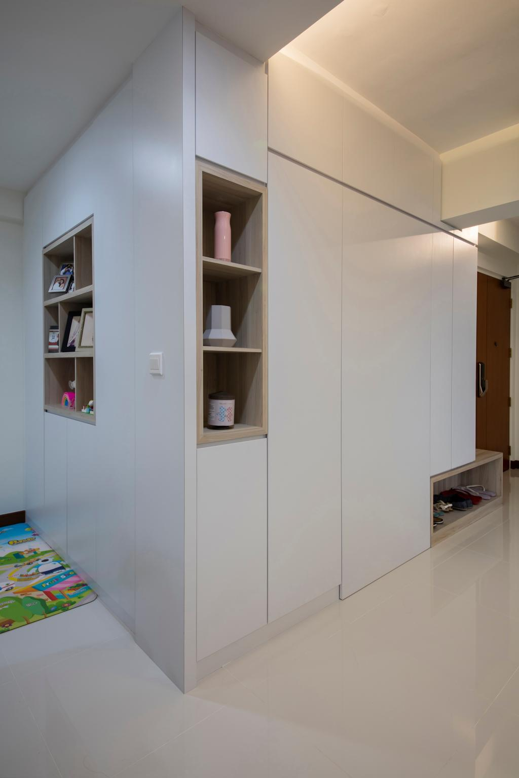 Contemporary, HDB, Choa Chu Kang (Block 810B), Interior Designer, Meter Square, Minimalistic, Closet, Furniture, Wardrobe