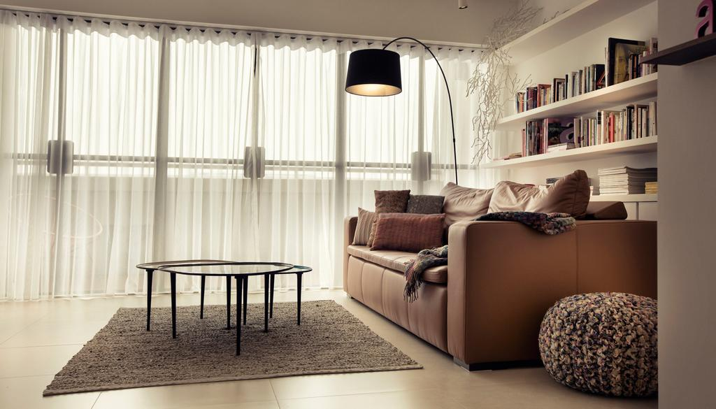Contemporary, HDB, Living Room, G Masionette, Architect, 0932 Design Consultants, Dining Table, Furniture, Table, Couch, Chair, Indoors, Room