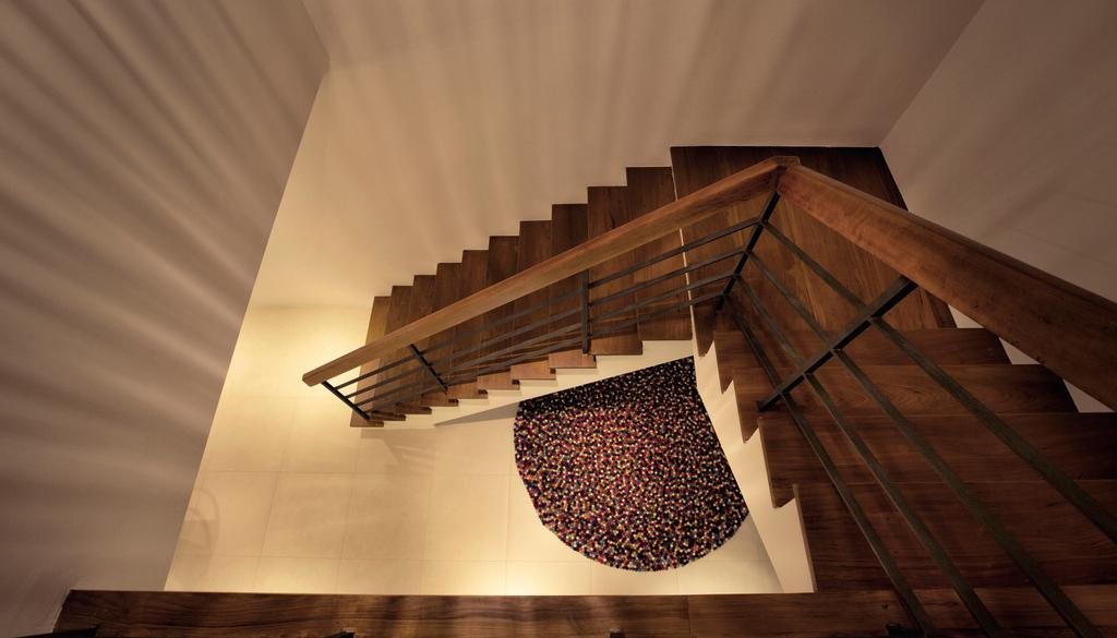 Contemporary, HDB, G Masionette, Architect, 0932 Design Consultants, Banister, Handrail, Staircase