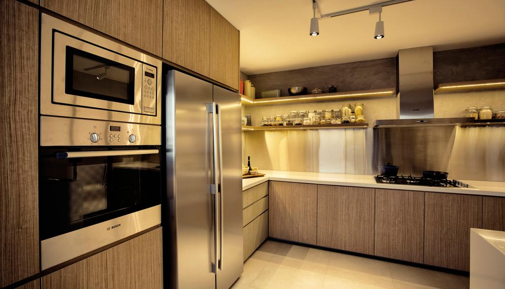 Contemporary, HDB, Kitchen, G Masionette, Architect, 0932 Design Consultants, Appliance, Electrical Device, Oven, Indoors, Interior Design, Room