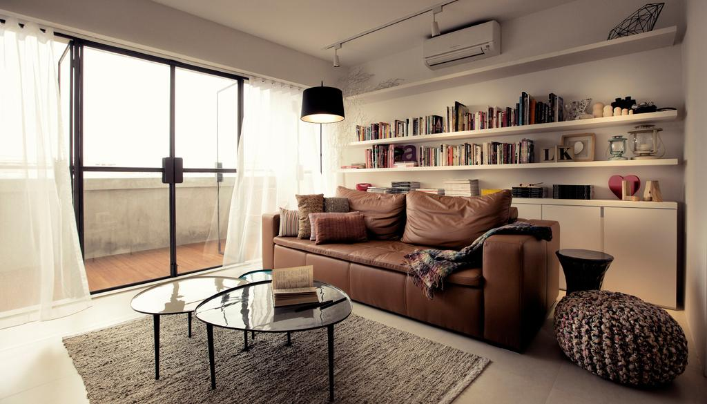 Contemporary, HDB, Living Room, G Masionette, Architect, 0932 Design Consultants, Couch, Furniture, Chair, Indoors, Interior Design