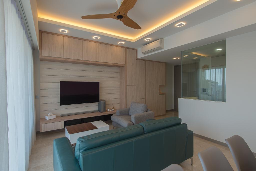 Minimalistic, Condo, Living Room, Riversails, Interior Designer, Dyel Design, Couch, Furniture, Indoors, Interior Design