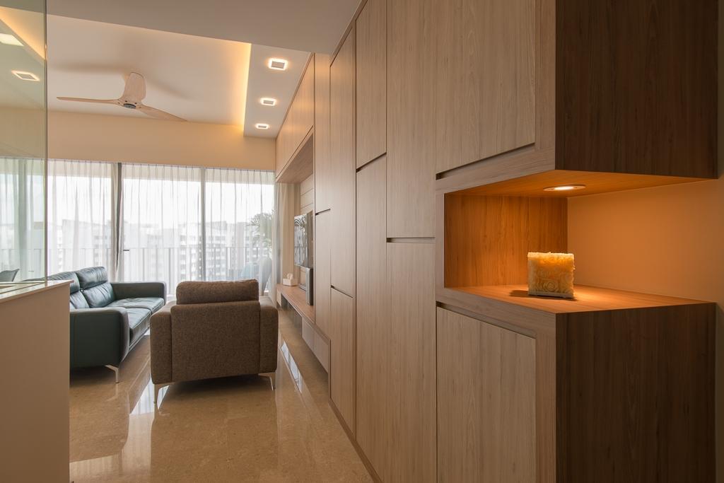 Minimalistic, Condo, Living Room, Riversails, Interior Designer, Dyel Design, Couch, Furniture, Indoors, Interior Design, Flooring