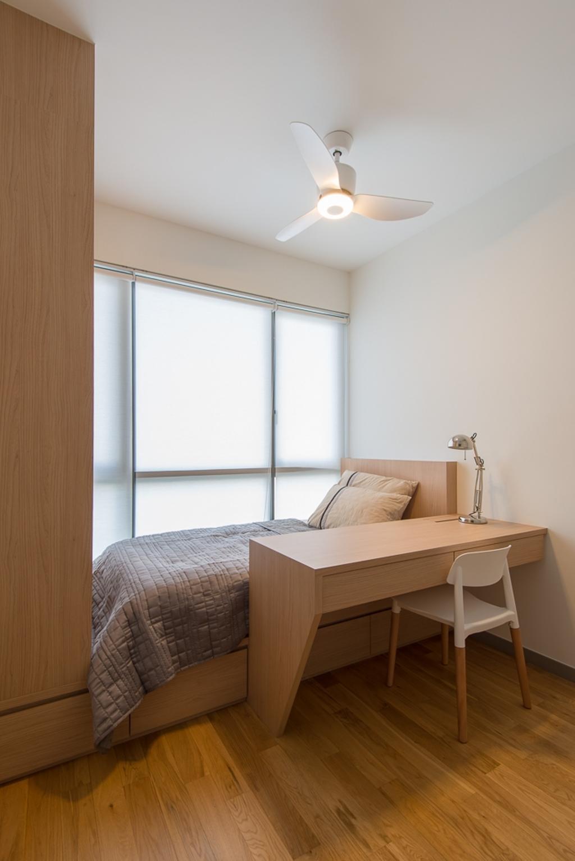 Minimalistic, Condo, Bedroom, Riversails, Interior Designer, Dyel Design, Sink, Lamp, Furniture, Table