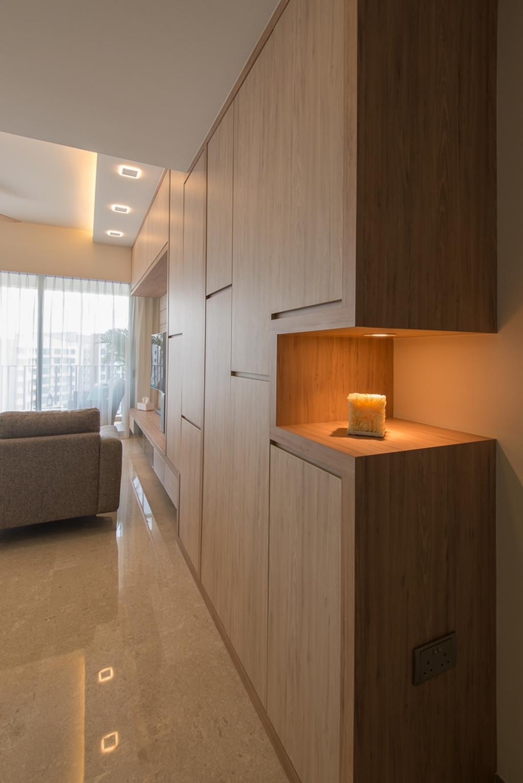 Minimalistic, Condo, Living Room, Riversails, Interior Designer, Dyel Design, Indoors, Interior Design