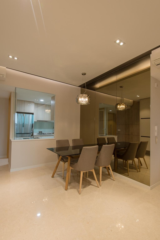 Contemporary, Condo, Dining Room, Thomson Three, Interior Designer, Dyel Design, Modern, Chair, Furniture, Couch, Indoors, Interior Design, Room, Dining Table, Table