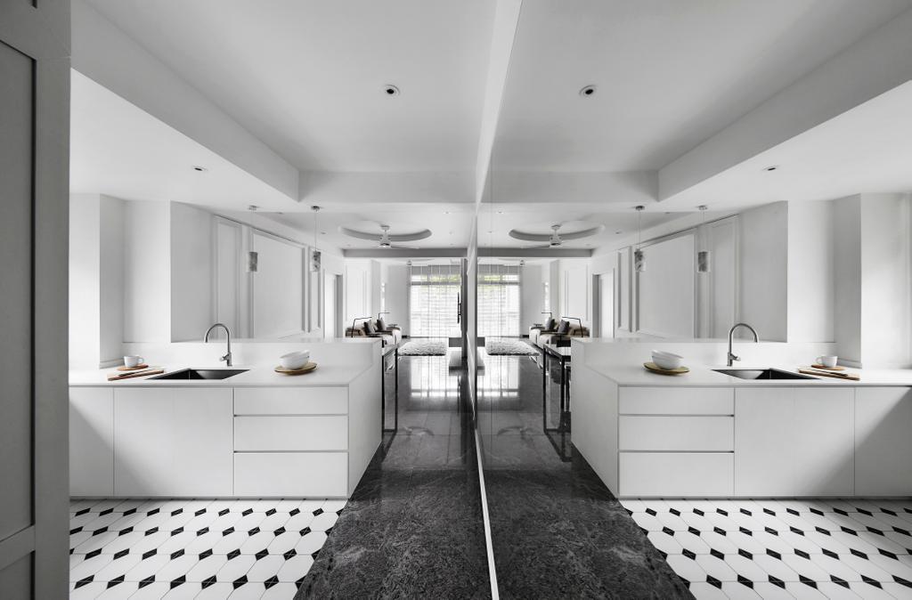 Modern, Condo, Kitchen, Kellock Lodge, Interior Designer, Third Avenue Studio, Contemporary, Bathroom, Indoors, Interior Design, Room