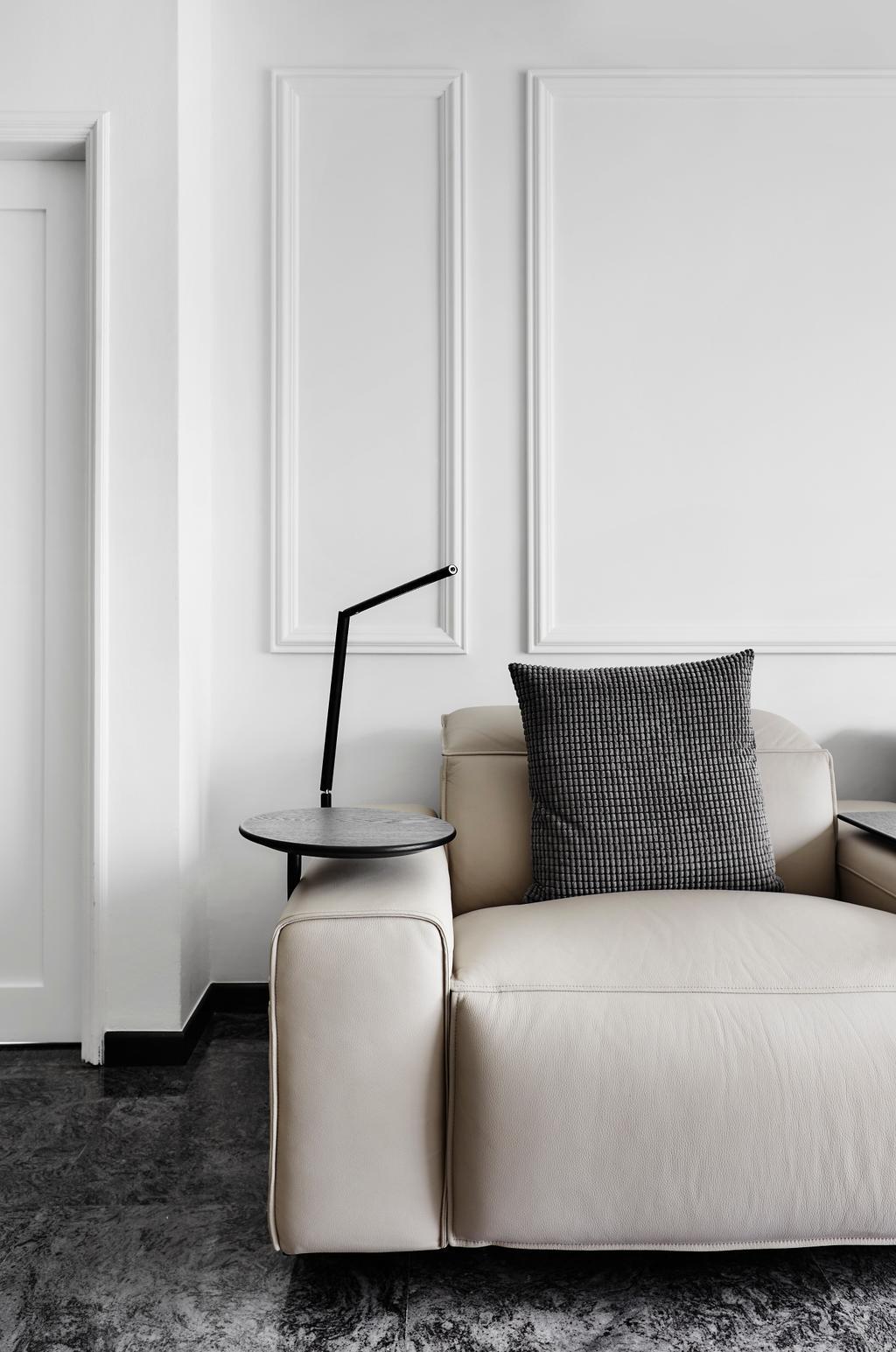 Modern, Condo, Living Room, Kellock Lodge, Interior Designer, Third Avenue Studio, Contemporary, Chair, Furniture