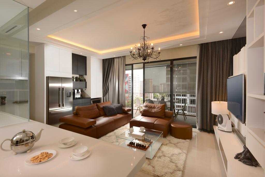 Contemporary, Condo, Dining Room, Jewel@Buangkok, Interior Designer, The Orange Cube, Indoors, Interior Design, Room