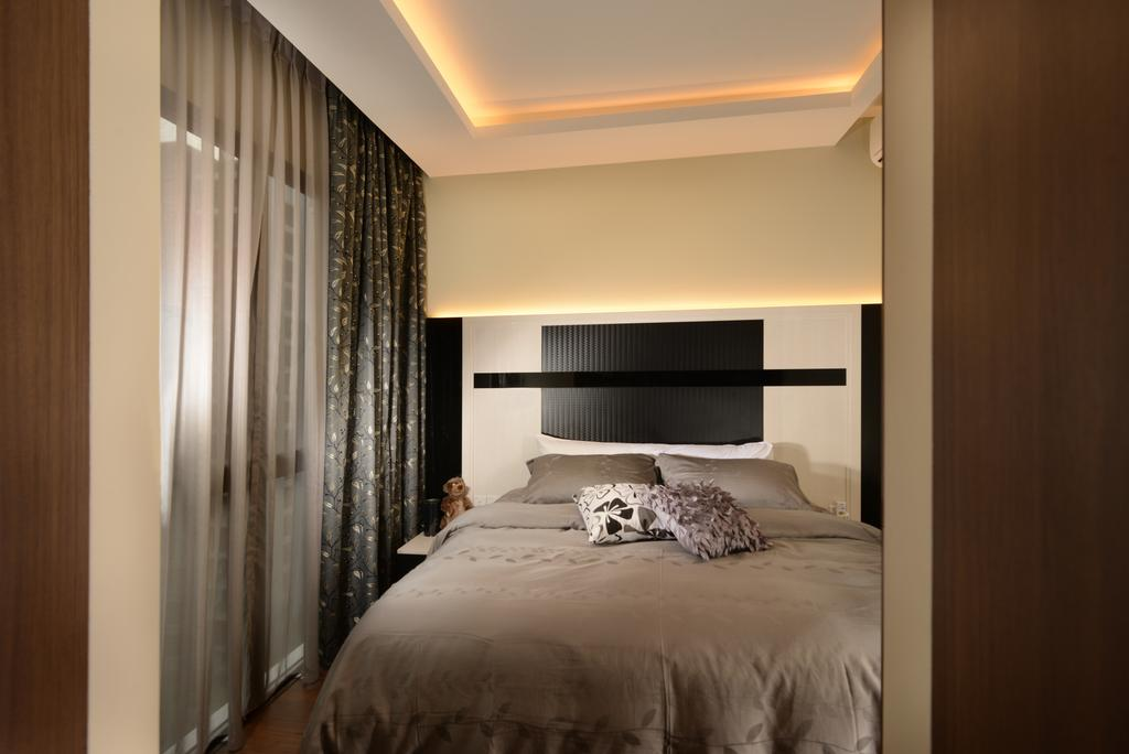 Contemporary, Condo, Bedroom, Jewel@Buangkok, Interior Designer, The Orange Cube, Indoors, Interior Design, Room