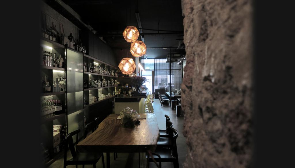 Tess Bar & Kitchen, Commercial, Architect, 0932 Design Consultants, Industrial, Human, People, Person, Pub, Cafe, Restaurant, Dining Room, Indoors, Interior Design, Room, Lighting, Chair, Furniture, Lamp, Lampshade