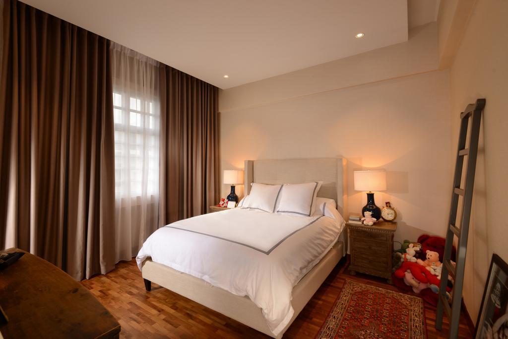 Modern, Condo, Bedroom, Daisy Lodge, Interior Designer, The Orange Cube, Indoors, Interior Design, Room, Bed, Furniture