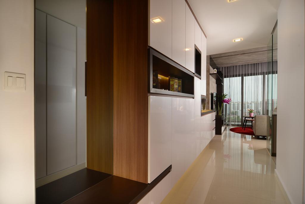 Modern, Condo, Living Room, H2O Residences, Interior Designer, The Orange Cube, Indoors, Interior Design, Flooring