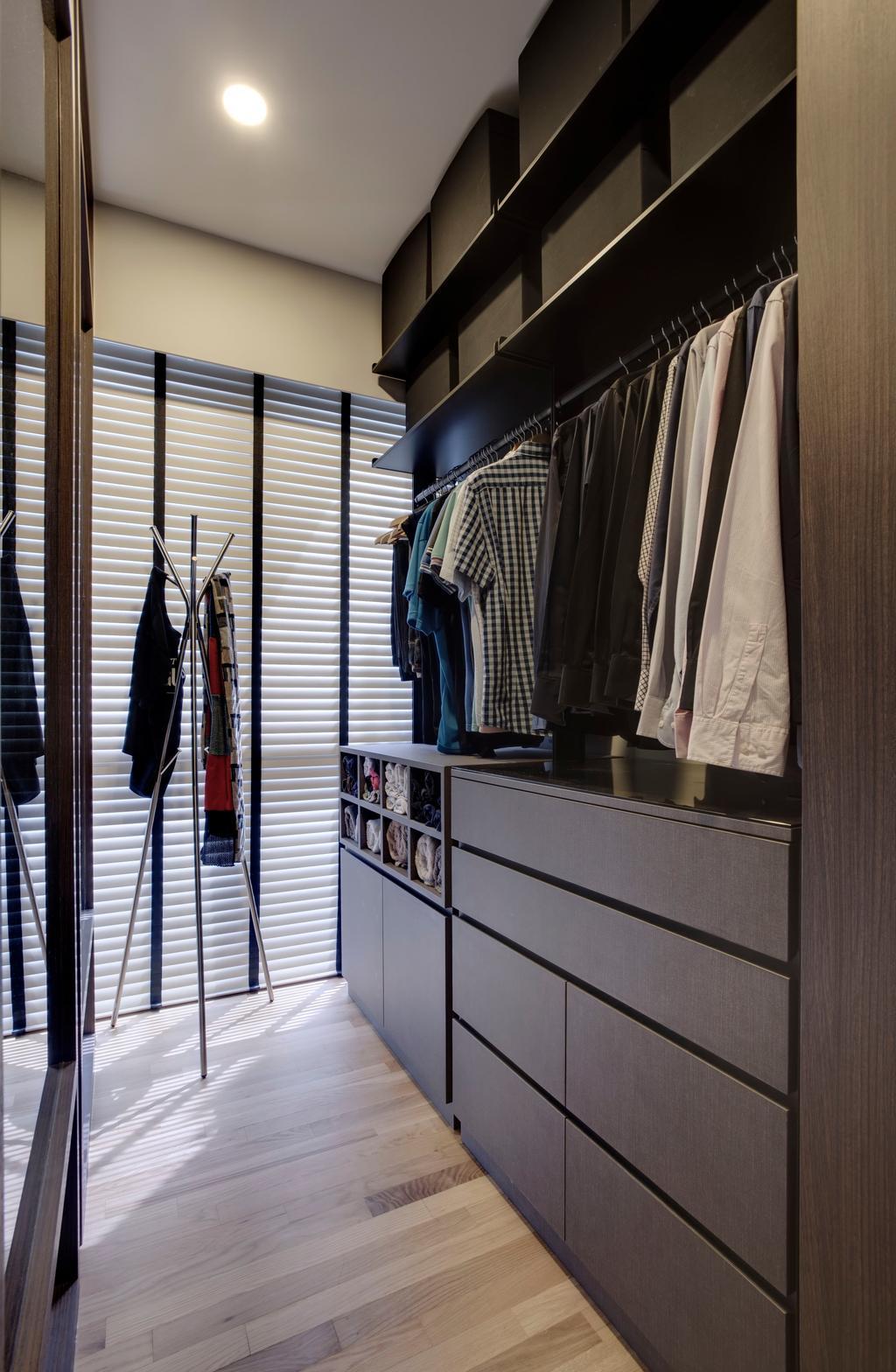 Modern, Condo, Bedroom, The Inflora, Interior Designer, The Orange Cube, Scandinavian, Apparel, Clothing