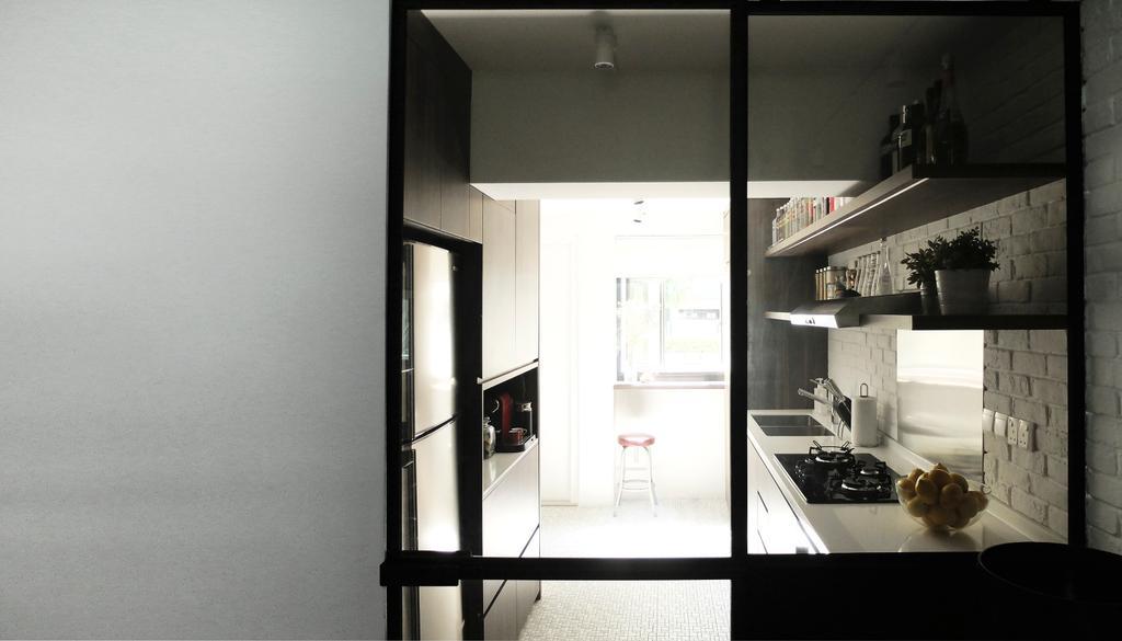 Industrial, HDB, Kitchen, #0432, Architect, 0932 Design Consultants