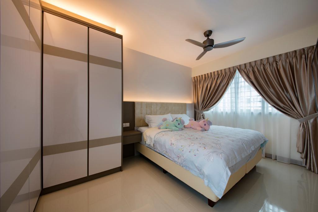 Modern, HDB, Bedroom, Bendemeer Road (Block 10), Interior Designer, Starry Homestead, Bed, Furniture
