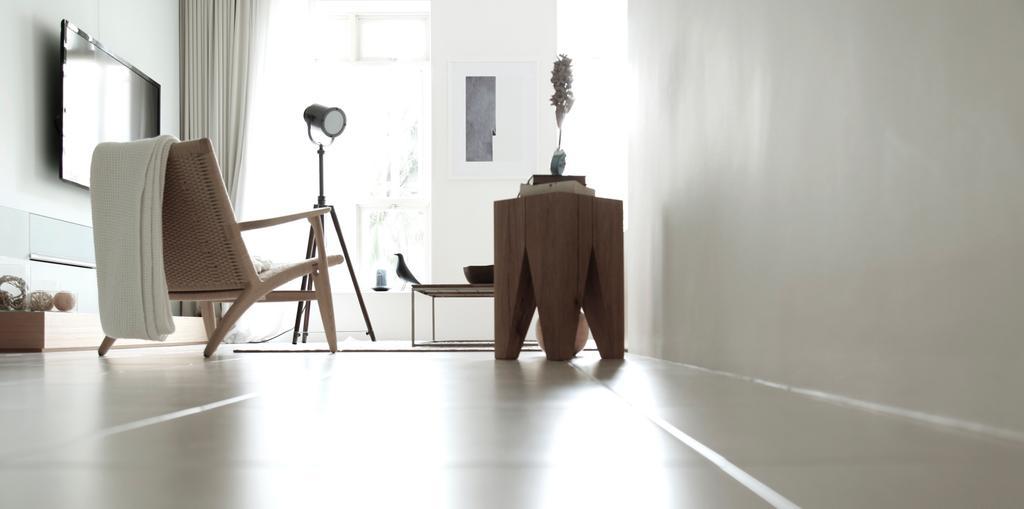 Minimalist, Condo, Living Room, D Apartment, Architect, 0932 Design Consultants, Chair, Furniture, Corridor