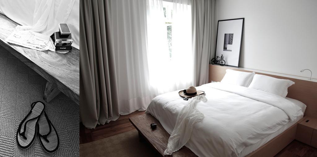 Minimalistic, Condo, Bedroom, D Apartment, Architect, 0932 Design Consultants, Wall Art, Duvet, Headboard, Head Storage, Curtains, Bed, Furniture, Indoors, Interior Design, Room