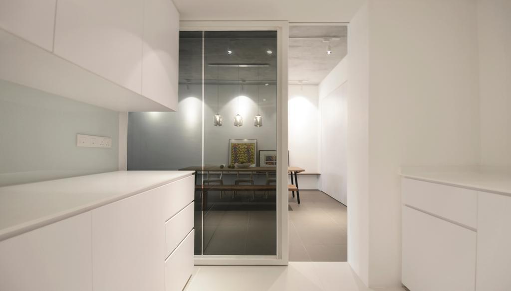 Industrial, Condo, Kitchen, J Studio, Architect, 0932 Design Consultants