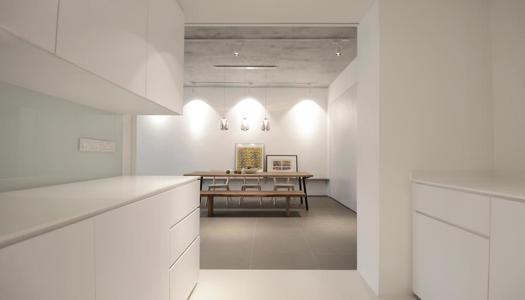 Industrial, Condo, Kitchen, J Studio, Architect, 0932 Design Consultants, Indoors, Interior Design
