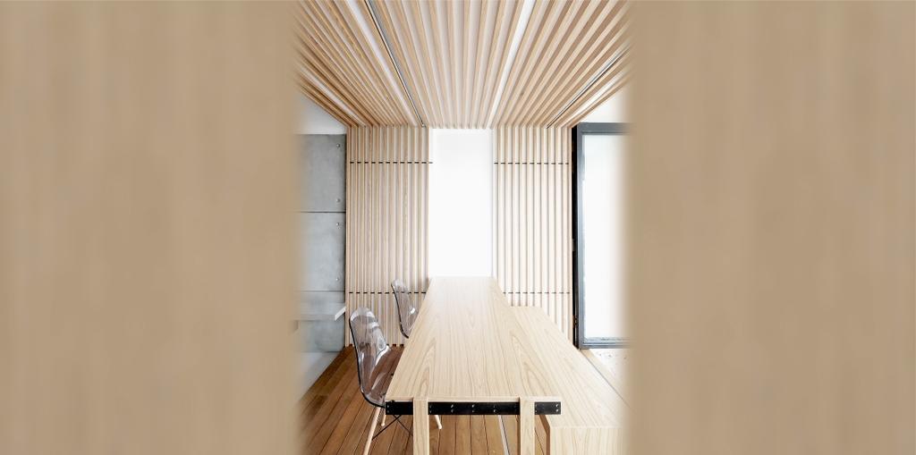 Minimalist, Condo, Dining Room, TT Apartment, Architect, 0932 Design Consultants