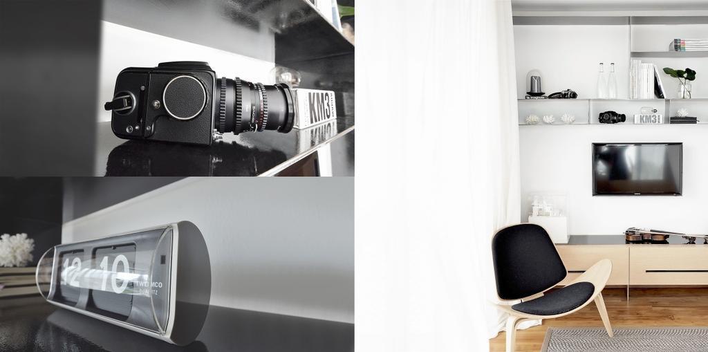 Minimalistic, Condo, TT Apartment, Architect, 0932 Design Consultants, Camera, Electronics, Chair, Furniture